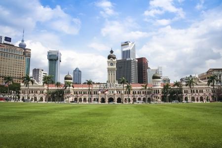 central square: KUALA LUMPUR, MALAYSIA - NOVEMBER 11: Sultan Abdul Samad Building facing Dataran Merdeka on November 11, 2007 in Kuala Lumpur.