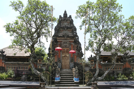 saraswati: Saraswati hindu temple ubud bali indonesia