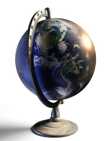 continente americano: t�rreo escritorio globo espect�culo continente americano. Foto de archivo