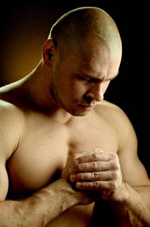 believing: Emotional portrait of a prayer