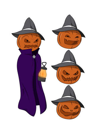 jack o   lantern: Halloween character - Jack o Lantern