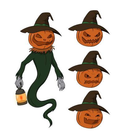 Halloween character - Jack o Lantern