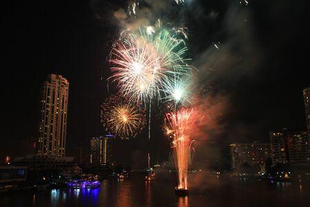 New year fireworks Stock Photo - 11017381