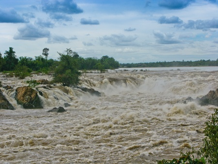 Kon Pha Pheng, Asia s Niagara Falls in Laos
