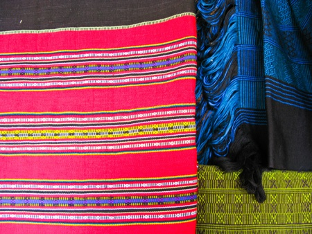 Colorful native fabric