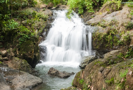 The 1st level of Khlong Kaeo Waterfall National Park in Trat Thailand Stock Photo - 14435164