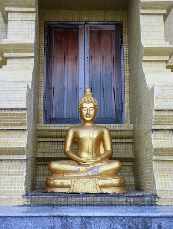 Image of Buddha at Laem Sor Pagoda, Samui Island Thailand photo