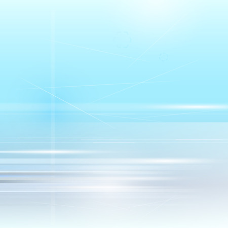 Light blue abstract background vector Illustration