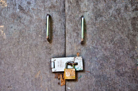 lock master key closed door Stock Photo - 8535349