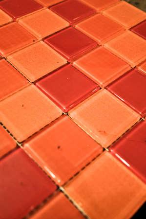tile orange photo