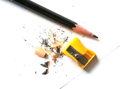 A very sharp pencil and a sharpener photo
