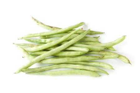long bean: Thai long bean on white background
