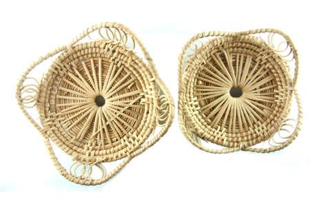 mini basket handmade photo