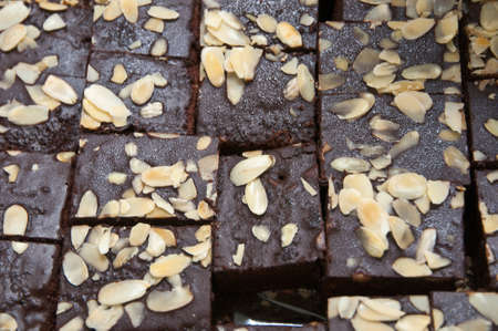 The fudge brownies with nuts