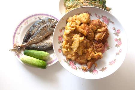 set of thai tradition food Stock Photo - 12583452