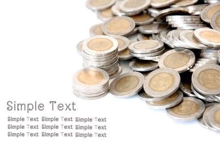 硬幣錢貨幣存量泰國浴