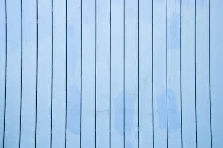 detai: wood painted blue closeup,fishermans boat house door detai Stock Photo