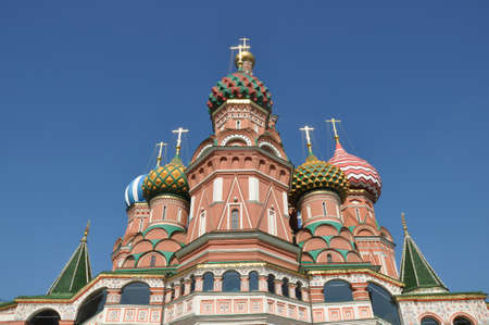 st basil s cathedral: St  Basil s Cathedral  Moscow  Russia   Stock Photo
