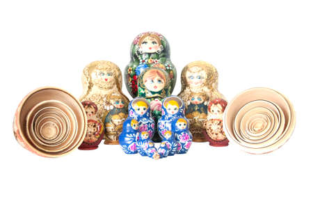 Russian national souvenir - matryoshka Stock Photo - 14071575