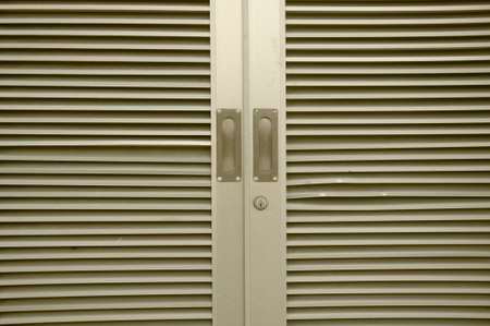 modern aluminium window Stock Photo