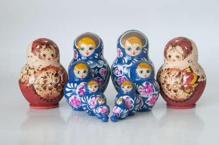 Russian national souvenir - matryoshka