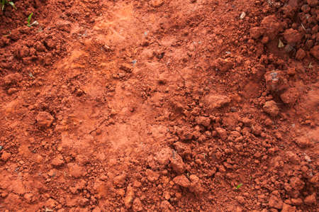 Red dry grungy clay background