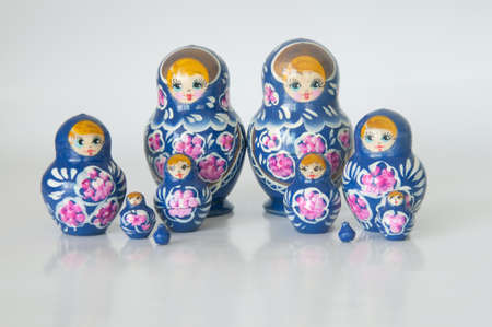 matroshka: Russian national souvenir - matryoshka