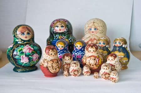 matrioska: Russian toy matrioska