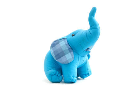 elephant toy make by silk