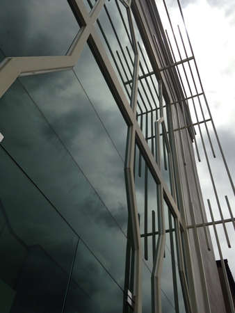 architecture: Angle view of building modern