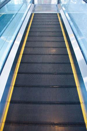 Empty moving escalator of walkway Stock Photo - 21721609