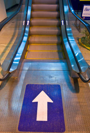up of escalator in department store Stock Photo - 21808350