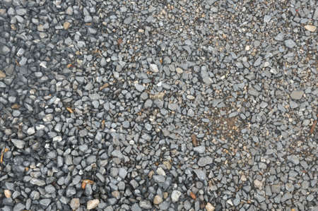 Details of gravel for construction