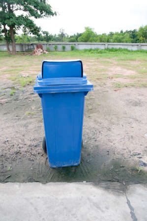 garbage bins in outdoor. photo