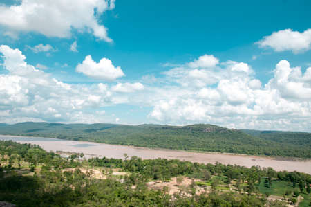 landscape of Pha Taem National Park, Ubon Ratchathani province , Thailand. photo