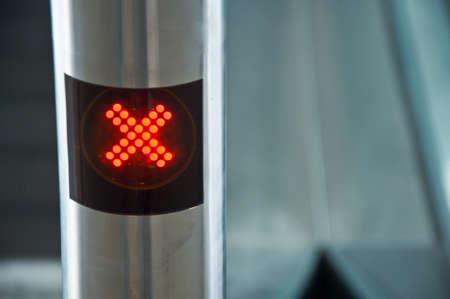no access: The digital stop sign- no access
