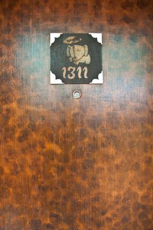 thai style: vintage Thai style room number