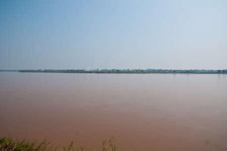 mekong: Mekong River ,Nakhonphanom of Thailand