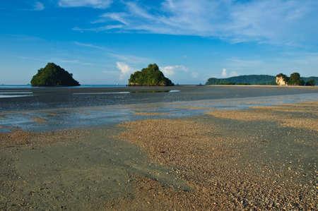 aonang: beach in  Aonang, Krabi, Thailand Stock Photo