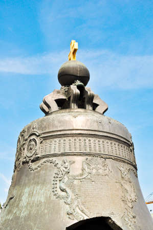 tsar: The Tsar bell  also known as the Tsarsky Kolokol, Tsar Kolokol III, or Royal Bell  in Moscow Kremlin, Russia Stock Photo