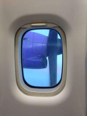 interior: Propeller airplane