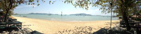 view: Panorama of Phuket Thailand
