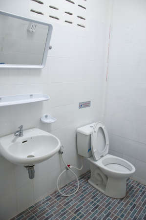 Home flush toilet toilet bowl photo