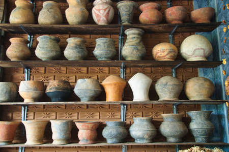 souvenir of Ancient Earthenware in Ban Chiang, Udornthani, Thailand