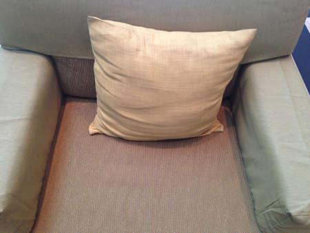 pillows: Pillow on sofa