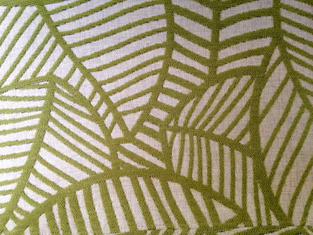 cotton fabric: Green canvas surface texture Stock Photo