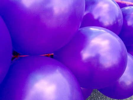 shiny: Happy birthday party balloons Stock Photo