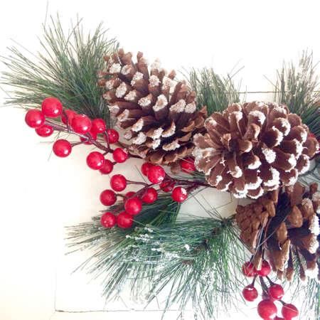 shiny: Pine cone decoration