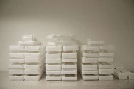 packing material: White Plastic Foam for soft packing material