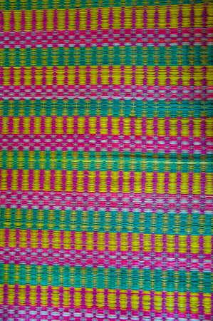 A reed mat weaves , handicraft , of Thai photo